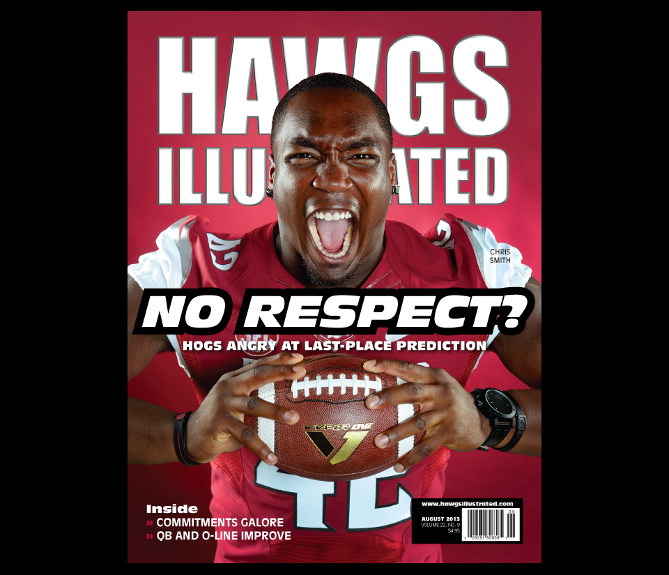 Hawgs Illustrated, August 2013
